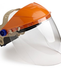 Assembled Browguard with Visor – BGVC