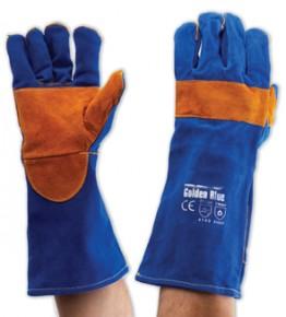 Blue & Gold Kevlar Glove – KBW16E