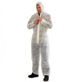 Disposable Coveralls White – DOW